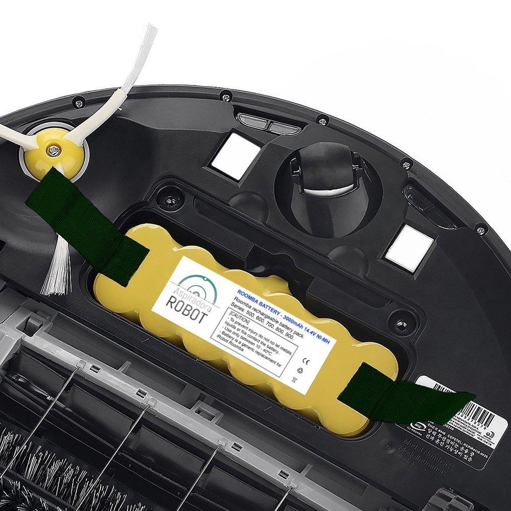 Cambiar batería Roomba
